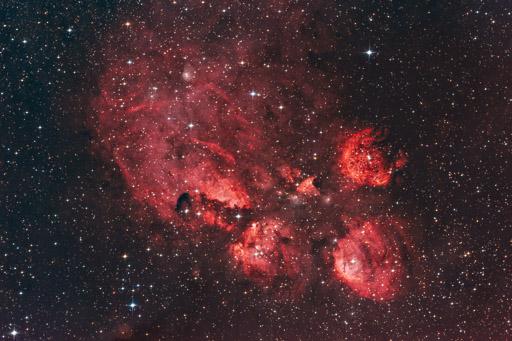 Cat's Paw Nebula - NGC 6334