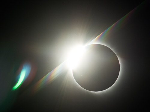Total Solar Eclipse - Diamond Flash #3