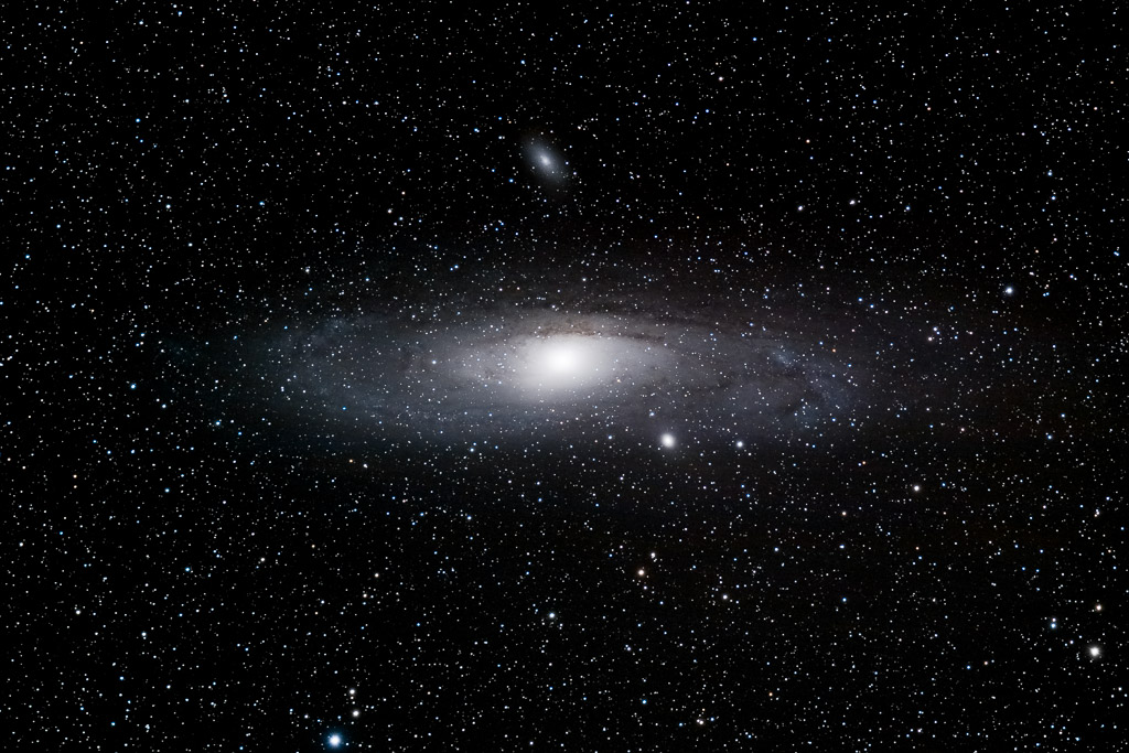 andromeda, astrofotografie, astronomie, astronomy, astrophotography, galaxy, himmel, m110, m31, m32, messier, sky, star, stars, stern, sterne