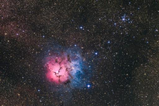 M20 - Trifid Nebula (DSS v1)