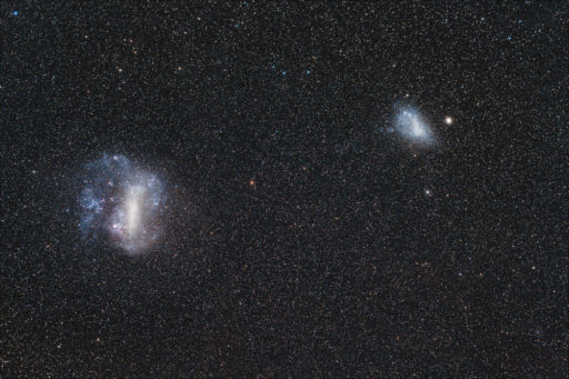 Large and Small Magellanic Clouds (DSS v2)