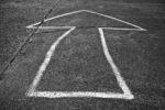DE, DE-NW, K, NRW, airfield, arrow, arrows, asphalt, aviation, b&w, black and white, butzweilerhof, bw, cologne, deutschland, flugfeld, flugplatz, fotografie, germany, köln, luftfahrt, nordrhein-westfalen, northrhine-westfalia, ossendorf, pfeil, pfeile, photography, schild, schilder, schwarzweiß, sign, signs, stadtbezirk 4 - ehrenfeld, sw, tarmac, world