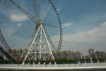CN, buildings, china, china2009, ferris wheel, freizeit, gebäude, high-riser, hochhaus, leisure, recreation, reise, riesenrad, shanghai, straße, straßen, street, streets, travel, world, zhongguo, 上海, 中国, 中國