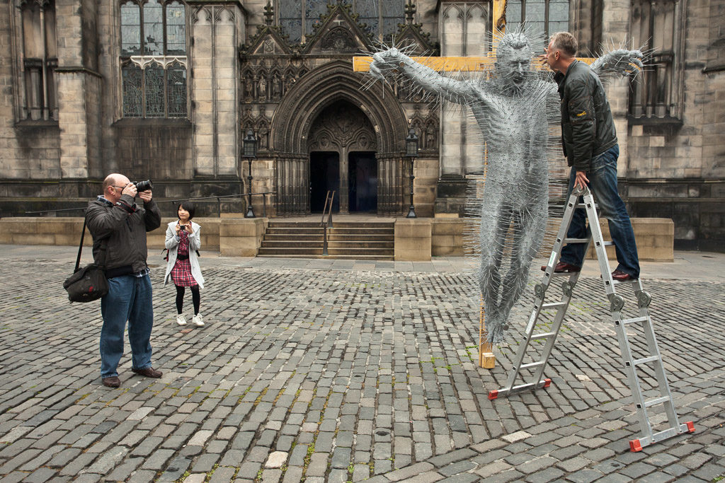 GB, SCO, SCT, UK, art, artist, artists, david mach, edinburgh, great britain, kunst, künstler, lothian, old town, plastik, reise, schottland, scotland, scotland2010, sculpture, skulptur, st giles cathedral, travel, united kingdom, world