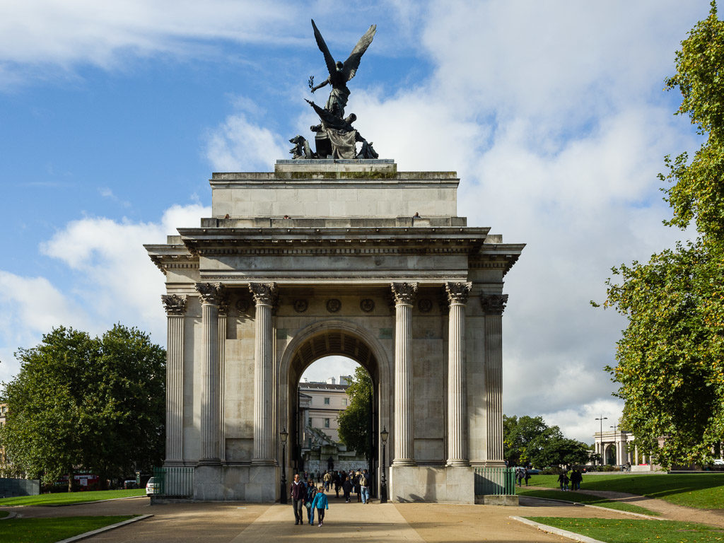 ENG, GB, UK, arch, buildings, city of westminster, duke of wellington place, england, gebäude, great britain, greater london, london, united kingdom, wellington arch, world