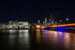 ENG, GB, UK, beleuchtung, city lights, england, great britain, greater london, illumination, lichter, lichter der stadt, lights, london, london bridge, nacht, night, river thames, skyline, themse, united kingdom, world
