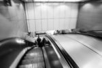 ENG, GB, UK, angel, b&w, black and white, buildings, bw, england, escalator, escalators, fotografie, gebäude, great britain, greater london, london, london underground, metro, photography, public transport, rolltreppe, rolltreppen, schwarzweiß, subway, sw, transport for london, tube, u-bahn, underground, united kingdom, world, öpnv