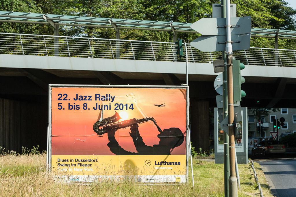 2014, D, DE, DE-NW, NRW, ad, ads, advertisement, advertisements, billboard, deutschland, düsseldorf, düsseldorfer jazz rally, ereignisse, events, festival, festivals, germany, jazz, jazz rally, music, musik, nordrhein-westfalen, northrhine-westfalia, plakatwand, werbung, world