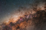 astrofotografie, astronomie, astronomy, astrophotography, corona australis, milkyway, sagittarius, südliche krone