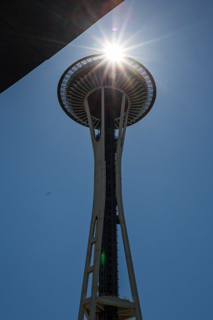 US, US-WA, USA, WA, architecture, architektur, edward e carlson, john graham jr, mopop, museum of pop culture, seattle, seattle center, space needle, united states, united states of america, vereinigte staaten, victor steinbrueck, washington, world