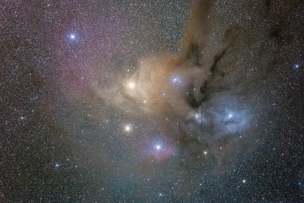 antares, astrofotografie, astronomie, astronomy, astrophotography, emission nebula, emissionsnebel, reflection nebula, scorpius