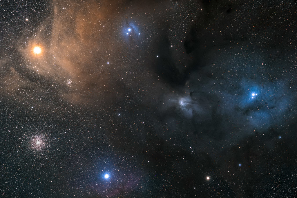 NA, antares, astrofotografie, astronomie, astronomy, astrophotography, dark nebula, globular cluster, hakos, hakos guest farm, ias, ias observatory, ias observatory hakos, khomas, kugelsternhaufen, m4, messier, namibia, ngc, ngc6144, ophiuchus, rho ophiuchi, rho ophiuchi cloud complex, scorpius, sigma scorpii, star, star cluster, stars, stern, sterne, sternhaufen, world