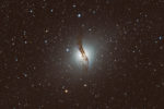 astrofotografie, astronomie, astronomy, astrophotography, centaurus, centaurus a, elliptical galaxy, elliptische galaxie, galaxy, ngc, ngc5128, zentaur