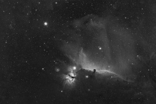 alnilam, alnitak, astrofotografie, astronomie, astronomy, astrophotography, b&w, b33, barnard, black and white, bw, flame nebula, fotografie, horsehead nebula, ic, ic434, ngc, ngc2024, orion, photography, schwarzweiß, sw