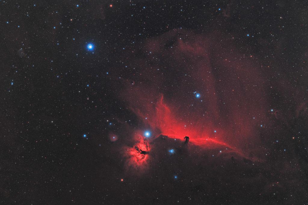 alnilam, alnitak, astrofotografie, astronomie, astronomy, astrophotography, b33, barnard, flame nebula, horsehead nebula, ic, ic434, ngc, ngc2024, orion