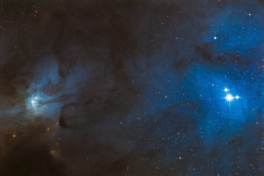 astrofotografie, astronomie, astronomy, astrophotography, ic, ic4603, ophiuchus, reflection nebula, rho ophiuchi, star, stars, stern, sterne