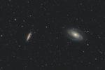 astrofotografie, astronomie, astronomy, astrophotography, bodes galaxy, galaxy, m81, m82, messier, ngc, ngc3031, ngc3034, spiral galaxy, ursa major