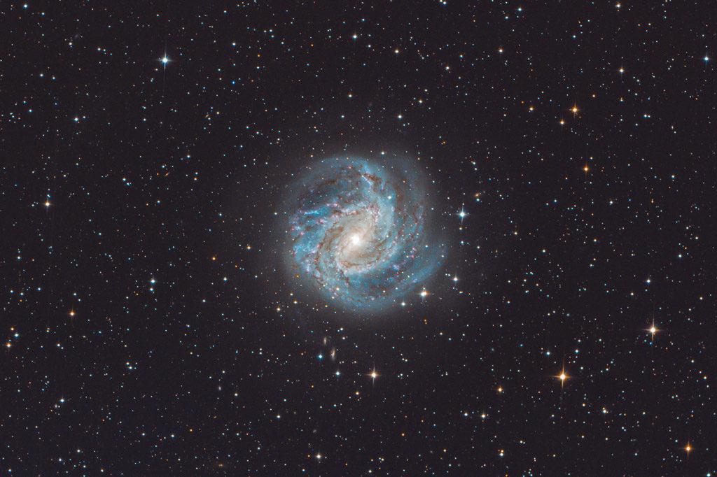 astrofotografie, astronomie, astronomy, astrophotography, galaxy, hydra, m83, messier, ngc, ngc5236, southern pinwheel galaxy, spiral galaxy, südliche feuerradgalaxie, wasserschlange