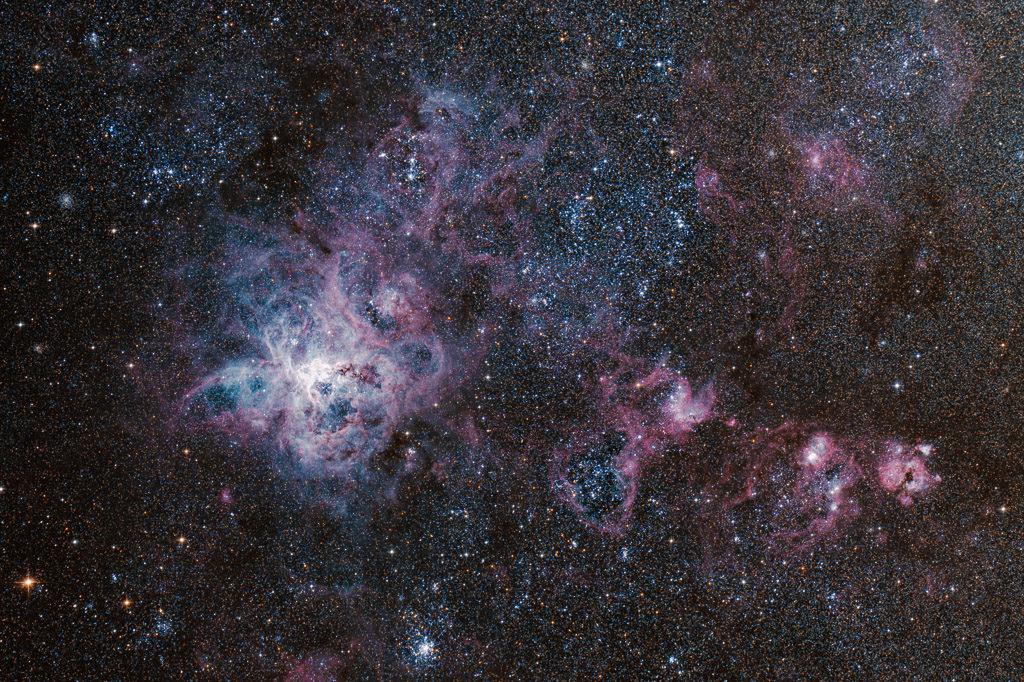 astrofotografie, astronomie, astronomy, astrophotography, große magellansche wolke, large magellanic cloud, lmc, ngc, ngc2070, tarantula nebula