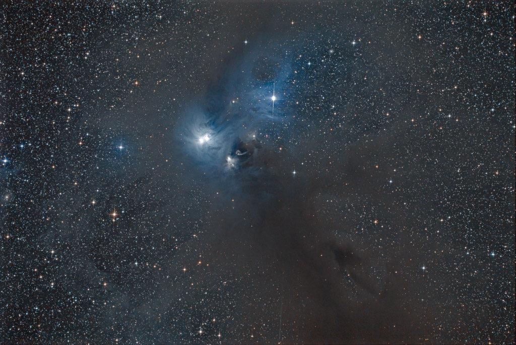astrofotografie, astronomie, astronomy, astrophotography, corona australis, dark nebula, ic, ic4812, ngc, ngc6726, ngc6727, ngc6729, reflection nebula, südliche krone