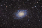 astrofotografie, astronomie, astronomy, astrophotography, galaxy, ngc, ngc6744, pavo, spiral galaxy, star, stars, stern, sterne