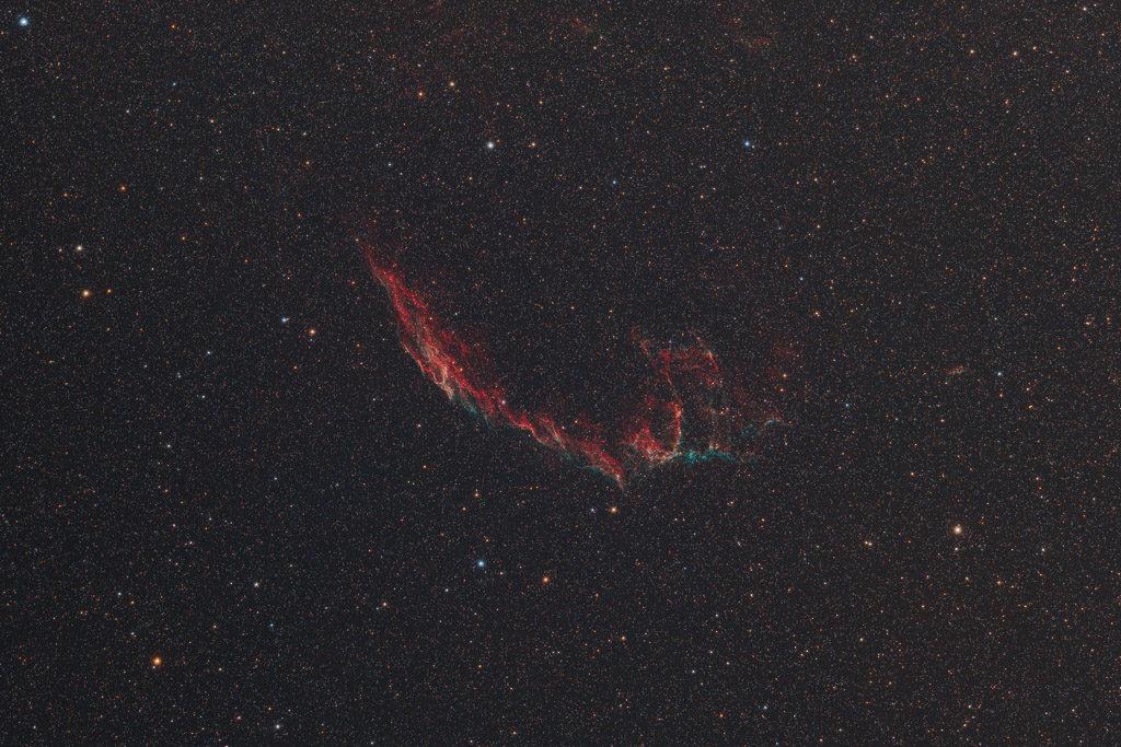 astrofotografie, astronomie, astronomy, astrophotography, cirrusnebel, cygnus, cygnus loop, cygnusbogen, eastern veil, emission nebula, emissionsnebel, reflection nebula, schwan, veil nebula