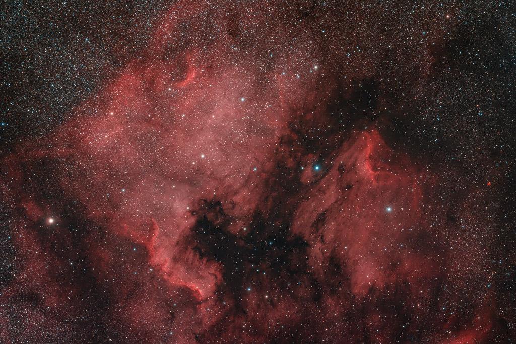 astrofotografie, astronomie, astronomy, astrophotography, cygnus, emission nebula, emissionsnebel, ic, ic5070, ngc, ngc7000, nordamerikanebel, north america nebula, pelican nebula, pelikan nebel, pelikannebel, schwan