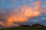 DE, DE-SH, NF, SH, buildings, clouds, deutschland, gebäude, germany, gröde, hallig, hallig gröde, halligen, haus, himmel, holm, house, houses, häuser, jahreszeit, jahreszeiten, landscape, landschaft, natur, nature, nordfriesland, nordsee, north frisia, north sea, reise, rural, schleswig-holstein, season, seasons, sky, sommer, sonne, sonnenaufgang, summer, sun, sunrise, travel, wadden sea, warft, wattenmeer, wolken, world