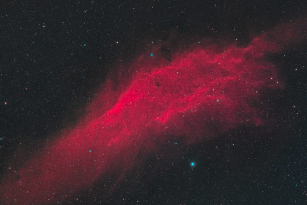 astrofotografie, astronomie, astronomy, astrophotography, california nebula, emission nebula, emissionsnebel, ngc, ngc1499, perseus, star, stars, stern, sterne, xi persei