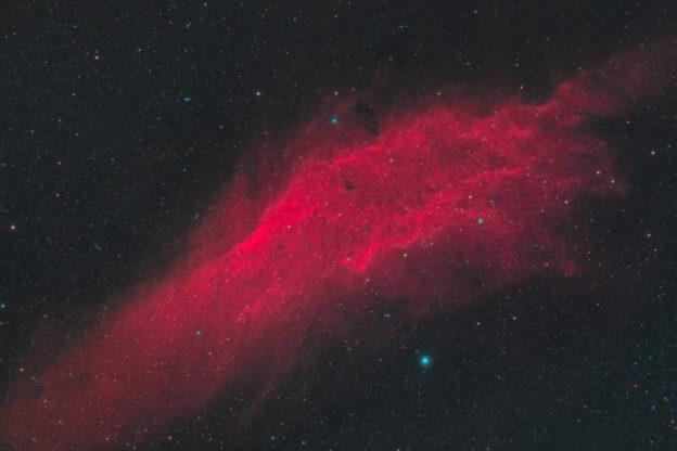 astrofotografie, astronomie, astronomy, astrophotography, california nebula, emission nebula, emissionsnebel, ngc, ngc1499, perseus, star, stars, stern, sterne, xi persei