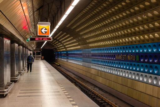 CZ, CZ01, czech republic, czechia, metro, namesti miru, prag, prague, praha, public transport, subway, tschechien, tschechische republik, u-bahn, underground, world, öpnv, Česká republika