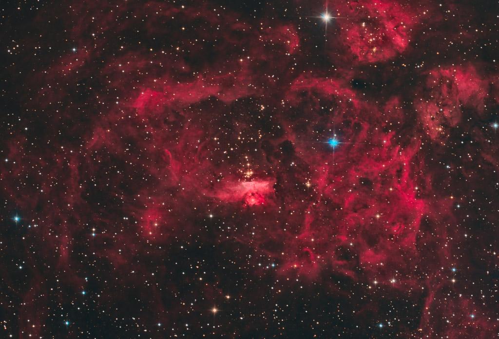 astrofotografie, astronomie, astronomy, astrophotography, lobster nebula, ngc, ngc6357, scorpius
