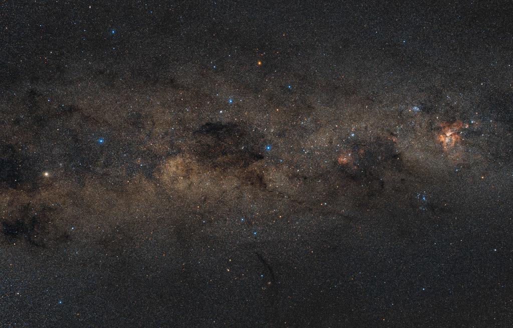 alpha centauri, astrofotografie, astronomie, astronomy, astrophotography, beta centauri, carina, carina nebula, centaurus, coalsack nebula, crux, kiel des schiffes, zentaur