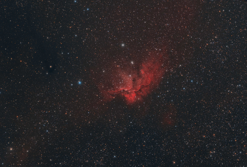 astrofotografie, astronomie, astronomy, astrophotography, cepheus, emission nebula, emissionsnebel, kepheus, ngc, ngc7380, open cluster, star, star cluster, stars, stern, sterne, sternhaufen, wizard nebula, zauberernebel