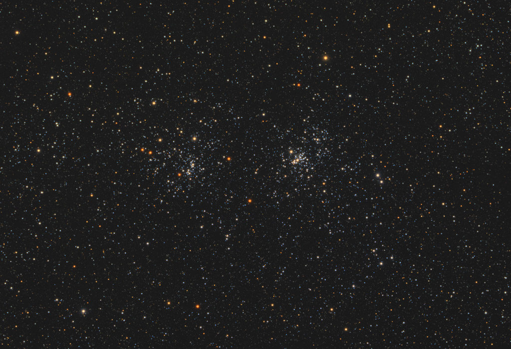 astrofotografie, astronomie, astronomy, astrophotography, h and chi persei, ngc, ngc869, ngc884, open cluster, perseus, star, star cluster, stars, stern, sterne, sternhaufen