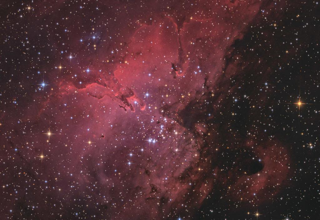 20-inch ak3, NA, ak3, astrofotografie, astronomie, astronomy, astrophotography, eagle nebula, emission nebula, emissionsnebel, hakos, hakos guest farm, ias, ias observatory, ias observatory hakos, ic, ic4703, khomas, namibia, ngc, ngc6611, pillars of creation, serpens, star, stars, stern, sterne, säulen der schöpfung, world