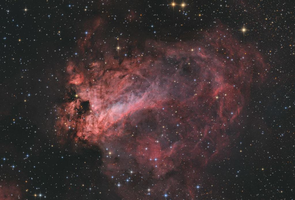 20-inch ak3, NA, ak3, astrofotografie, astronomie, astronomy, astrophotography, checkmark nebula, emission nebula, emissionsnebel, hakos, hakos guest farm, horseshoe nebula, hufeisennebel, ias, ias observatory, ias observatory hakos, khomas, m17, messier, namibia, ngc, ngc6618, omega nebula, omeganebel, open cluster, sagittarius, schwanennebel, star, star cluster, stars, stern, sterne, sternhaufen, swan nebula, world