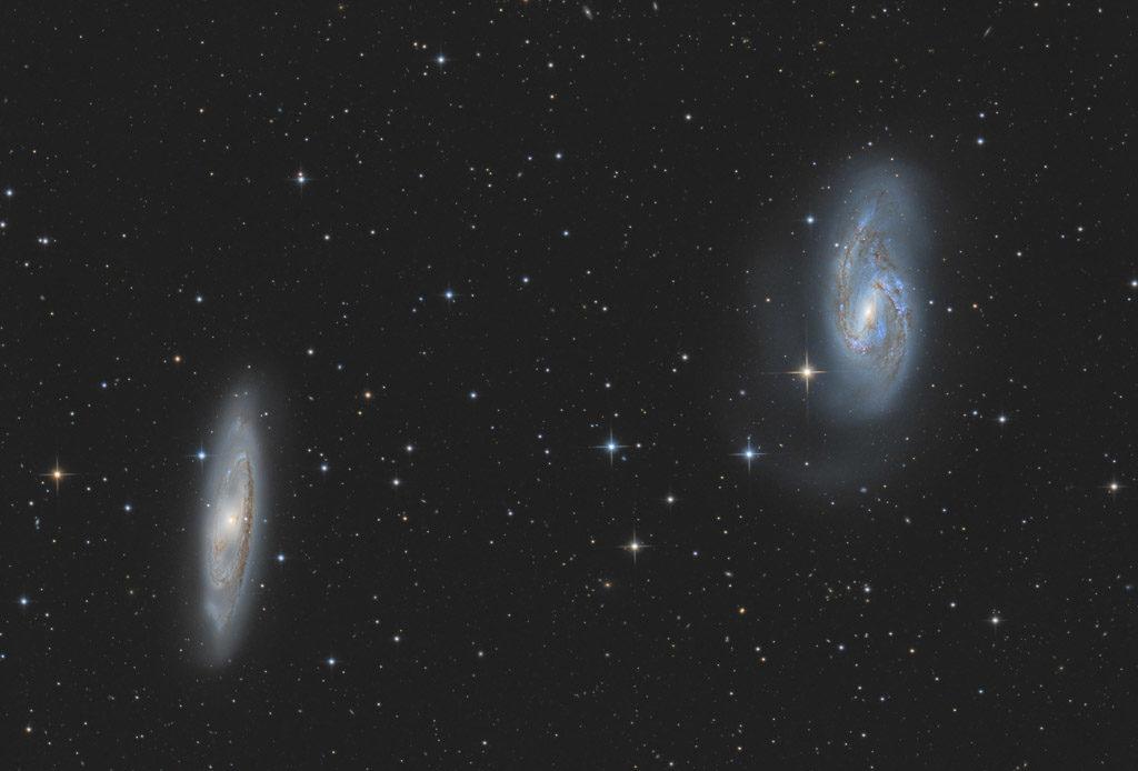 20-inch ak3, NA, ak3, astrofotografie, astronomie, astronomy, astrophotography, galaxy, galaxy cluster, hakos, hakos guest farm, ias, ias observatory, ias observatory hakos, khomas, leo, leo triplet, m65, m66, messier, namibia, ngc, ngc3623, ngc3627, spiral galaxy, star, stars, stern, sterne, world