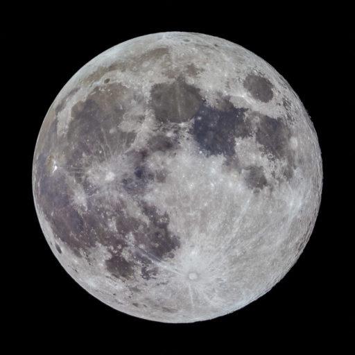 astrofotografie, astronomie, astronomy, astrophotography, full moon, mond, moon, solar system, sonnensystem