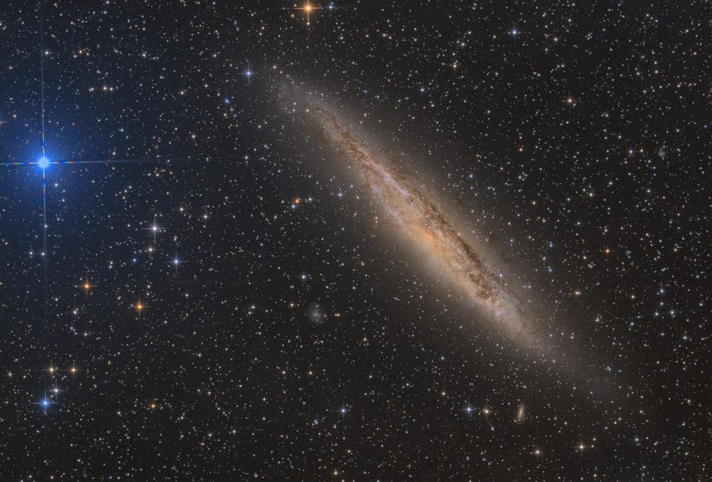 20-inch ak3, NA, ak3, astrofotografie, astronomie, astronomy, astrophotography, centaurus, galaxy, hakos, hakos guest farm, ias, ias observatory, ias observatory hakos, khomas, namibia, ngc, ngc4945, spiral galaxy, star, stars, stern, sterne, world, xi centauri, zentaur