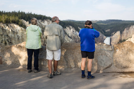 US, US-WY, USA, WY, artist point, color, colors, farbe, farben, gelb, grand canyon of the yellowstone, leute, lower falls of the yellowstone, menschen, people, tourist, touristen, tourists, united states, united states of america, vereinigte staaten, world, wyoming, yellow, yellowstone, yellowstone national park