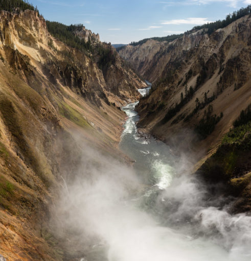 US, US-WY, USA, WY, color, colors, farbe, farben, gelb, grand canyon of the yellowstone, lower falls of the yellowstone, united states, united states of america, vereinigte staaten, world, wyoming, yellow, yellowstone, yellowstone national park, yellowstone river