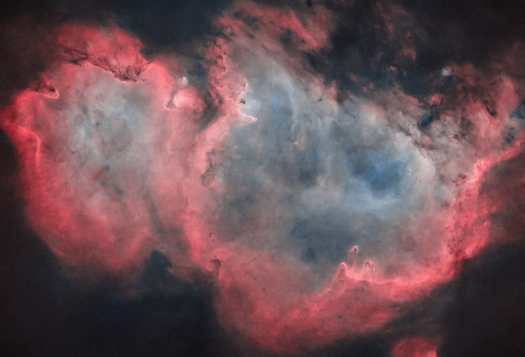astrofotografie, astronomie, astronomy, astrophotography, cassiopeia, emission nebula, emissionsnebel, ic, ic1848, kassiopeia, seelennebel, soul nebula