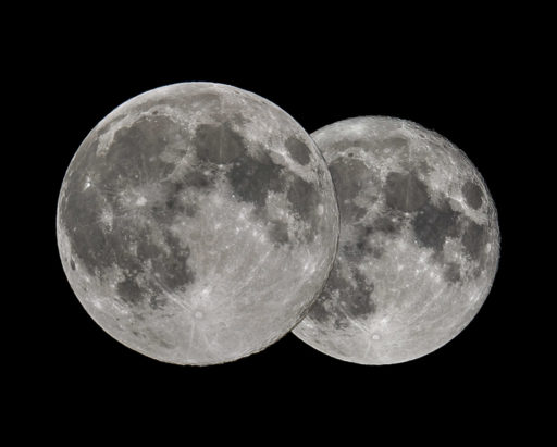 apogee, apogäum, astrofotografie, astronomie, astronomy, astrophotography, erdferne, erdnähe, full moon, micromoon, mond, moon, perigee, perigäum, solar system, sonnensystem, supermoon