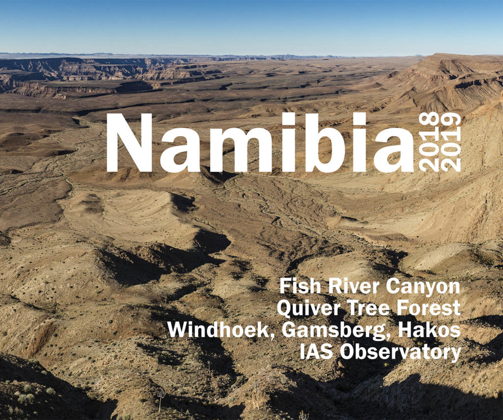 Namibia 2018 / 2019 Photobook
