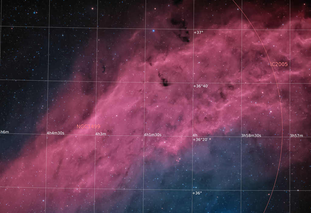 astrofotografie, astronomie, astronomy, astrophotography, bicolor, california nebula, emission nebula, emissionsnebel, ngc, ngc1499, perseus